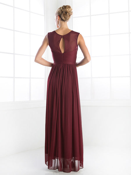 Custom Order Twist Front Ruched Chiffon Floor length Bridesmaid Gown Evening Dress 7 Colors XS - 3XL