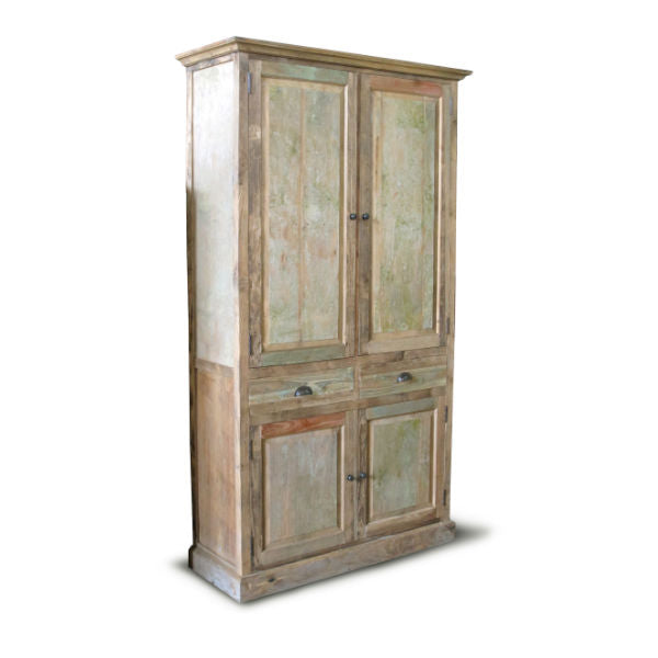 Recycle Antique Kast 4 deuren - 2 lades