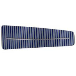 Ultra Light Weight Striped Barrette - Large Size