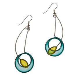Sphere & Ellipse Earrings