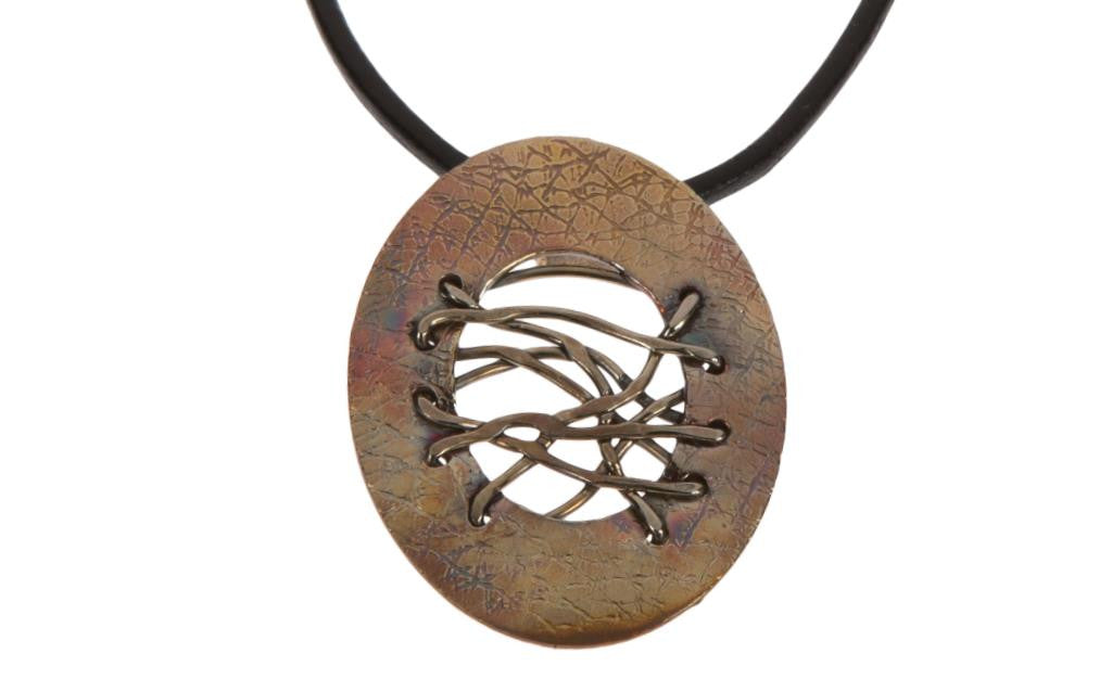 Copper Nickel Fully Wired Necklace