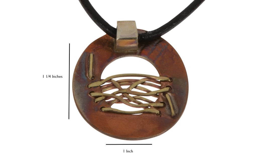 Copper Nickel Mid Wired Necklace