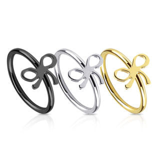 Surgical Stainless Steel Ribbon Nose Ring