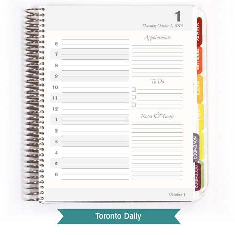 toronto planner practical paper company