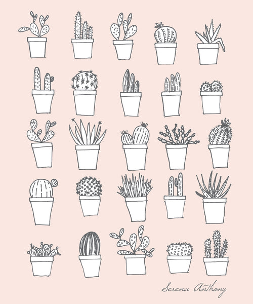 Cacti Minis - Notebook