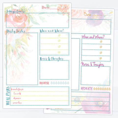 Daily Planner Desk Pad