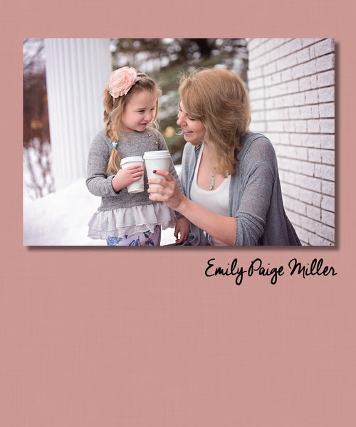 Simple Photo Cover | Three Color Options