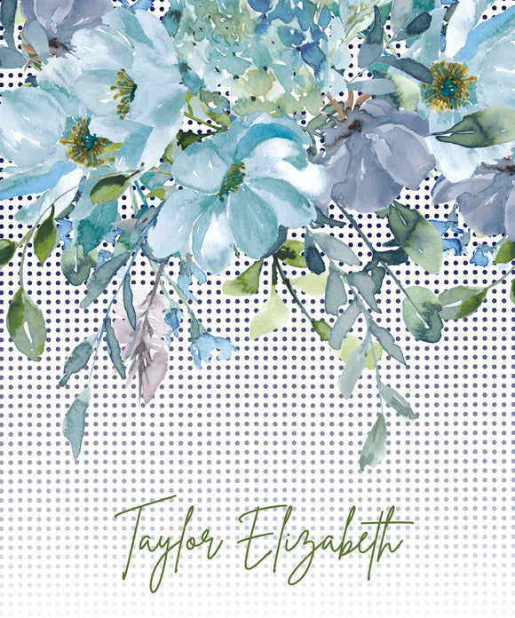 Floral at Tiffany's - Notebook