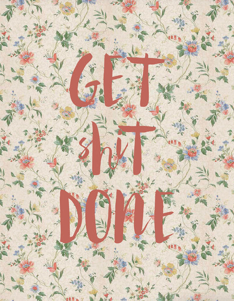 Get Sh*t Done Notebook