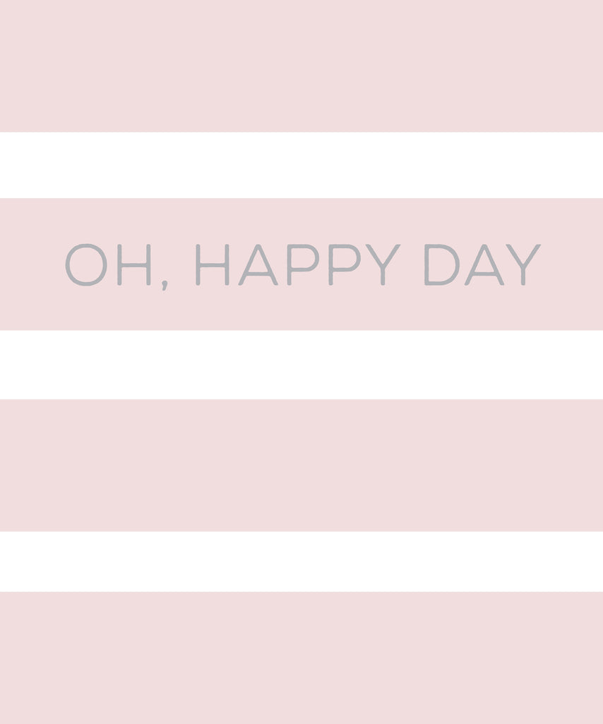 Oh, Happy Day!