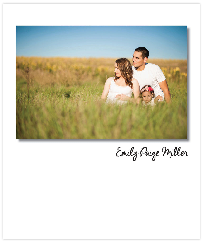 Simple Photo Cover Notebook