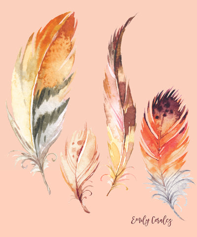 Tawny Feathers - Notebook