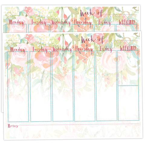 Weekly Planner Desk Pad