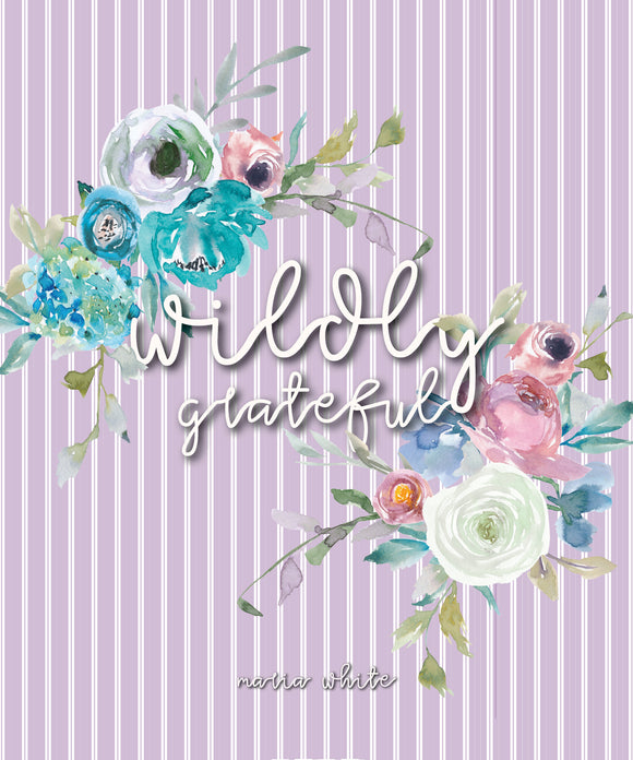 Wildly Grateful Lilac - Notebook