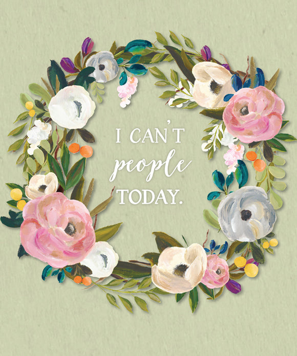 Can't People Today