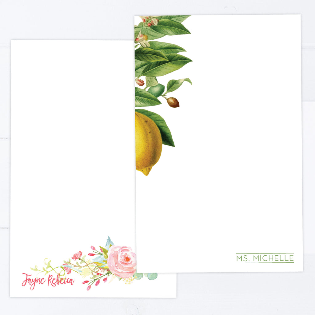 Floral Stationery | Eight Styles
