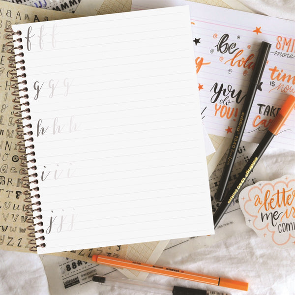 Modern Calligraphy Practice Books