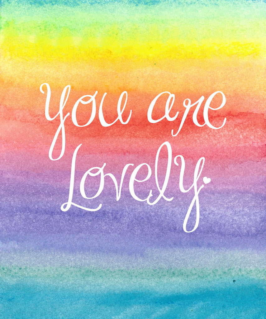 You are Lovely Notebook
