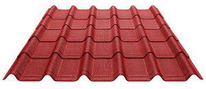 ONDUVILLA Shingles 1 Pack of 10 Shingles - Classic Red