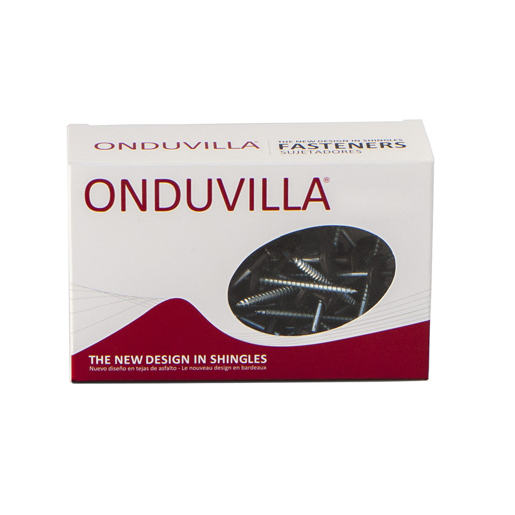 ONDUVILLA Screw Box 55pk -Ebony Black