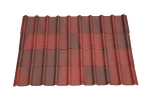 ONDUVILLA Shingles 1 Pack of 10 Shingles - Tuscany Red
