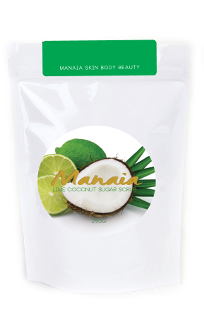 Lime Coconut Sugar Scrub