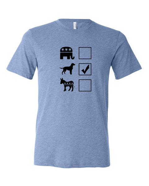"Vote Labrador Retriever Unisex ""ULTRA SOFT"" T-shirt"