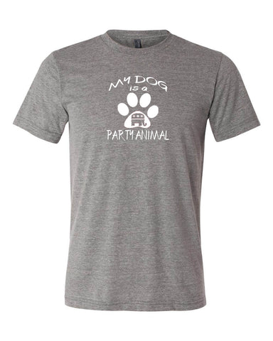 "Republican ""MY DOG IS A PARTY ANIMAL""  Men's T-shirt"