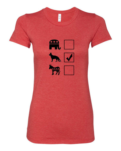 Vote German Shepherd Women's T-Shirt