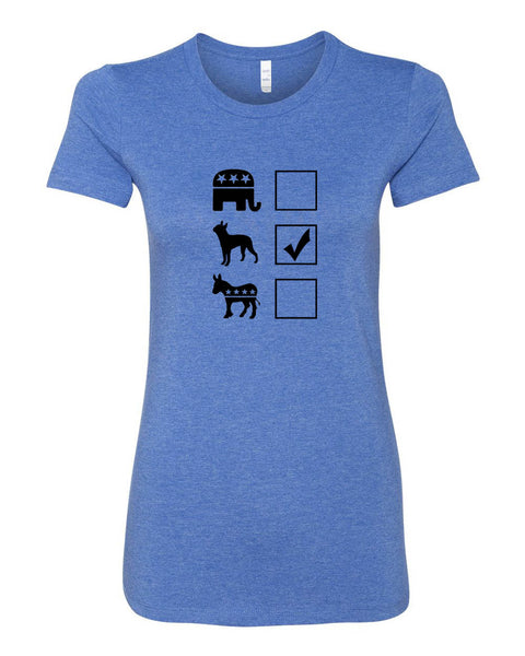 Vote Boston Terrier Women's T-Shirt