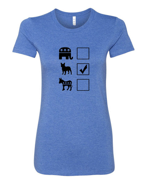 Vote French Bulldog Women's T-Shirt