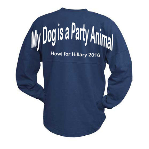 My Dog is a Party Animal, Howl for Hillary 2016. Billboard Crew