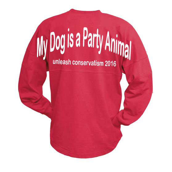 My Dog is a Party Animal, unleash conservatism. Billboard Crew