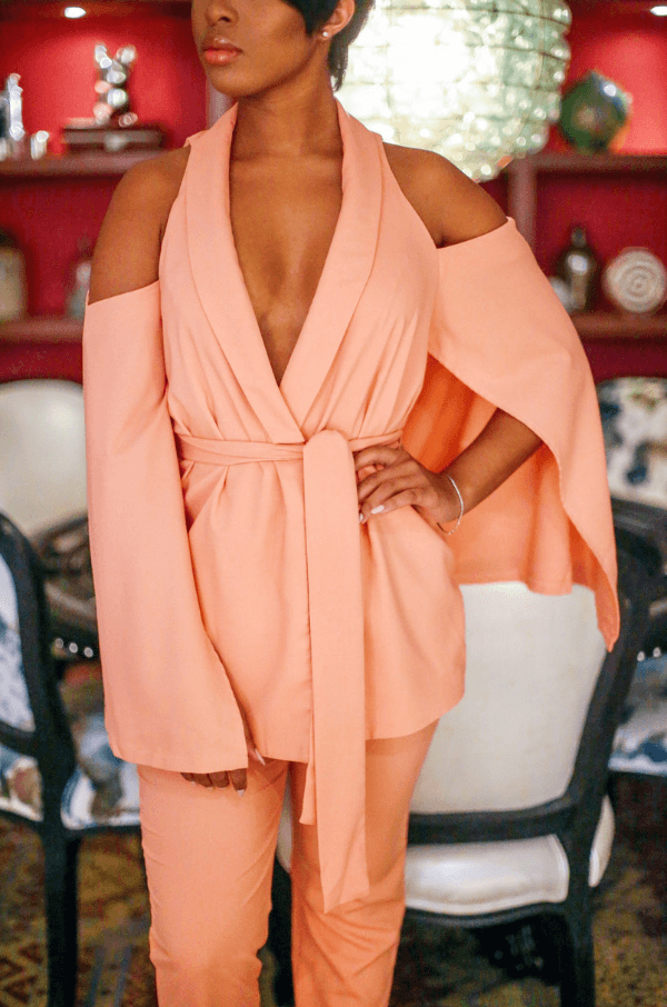 Georgia Peach Bellini Jumpsuit