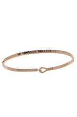 Mind Over Matter Inspirational Bangle