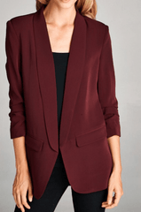 Meetings & Merlot Blazer
