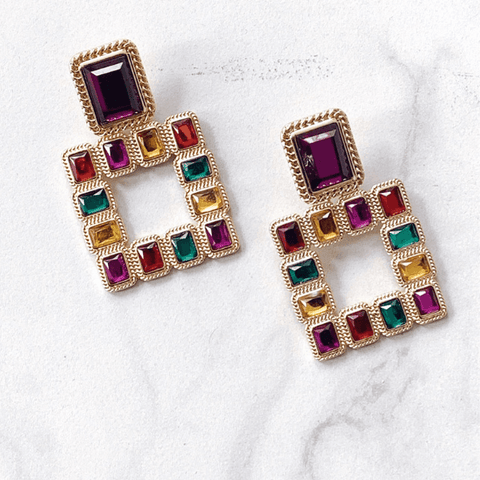 'Jewels' Drop Earrings