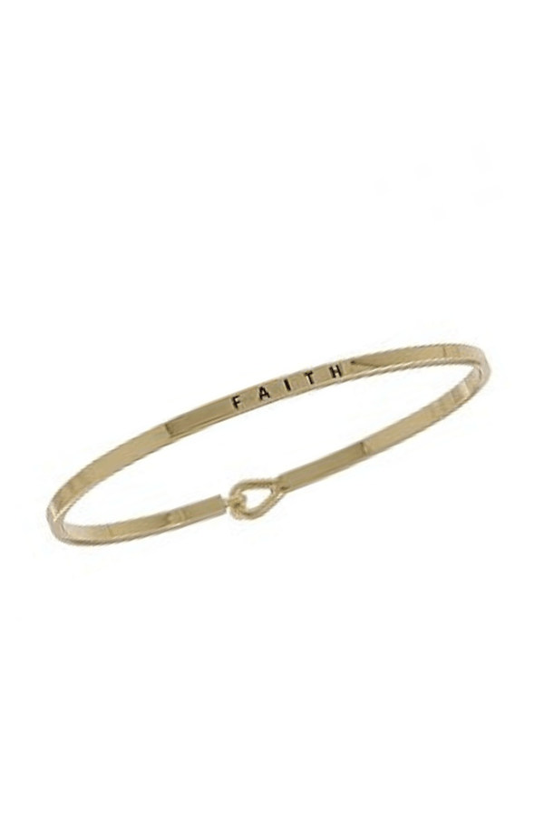 Faith Inspirational Bangle