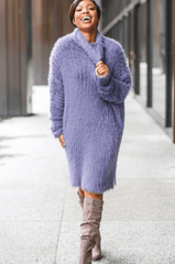 Purple Haze Sweater Dress