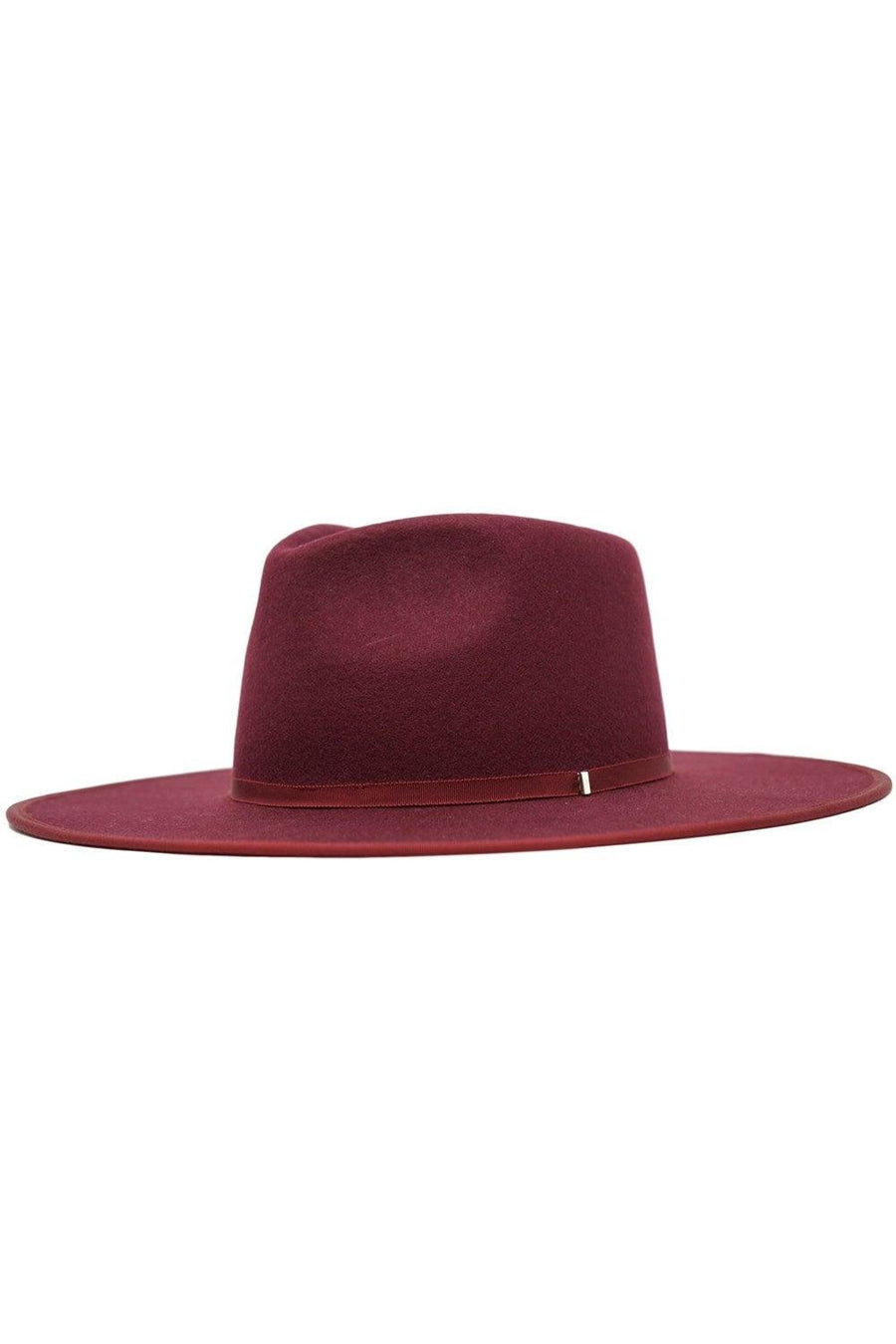 Burgundy | Michelle Hat (Pre-Order Estimated Ship 11/9)