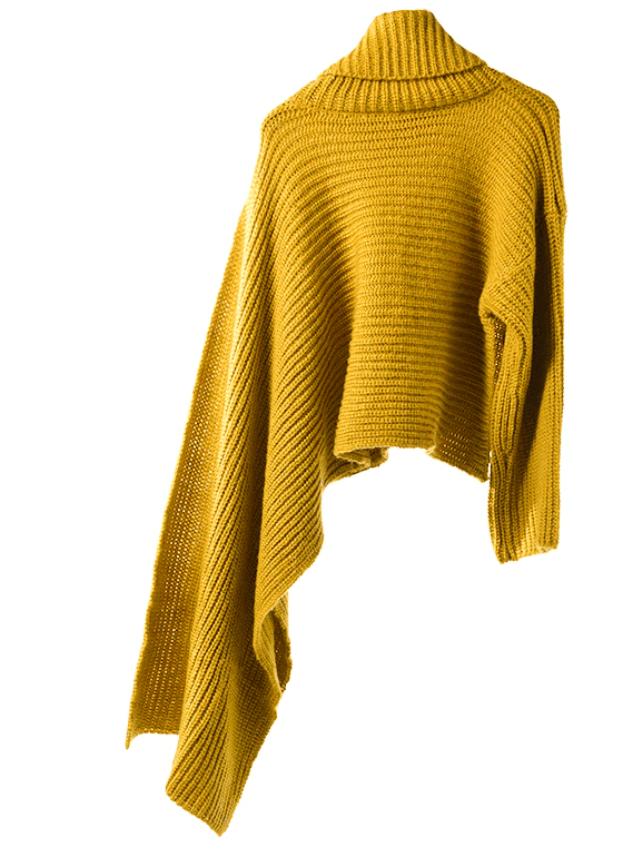 Gold 'Overflow' Sweater