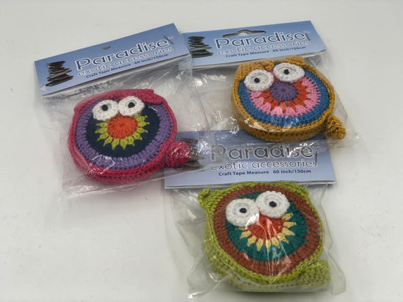 Crochet Owl Tape Measure