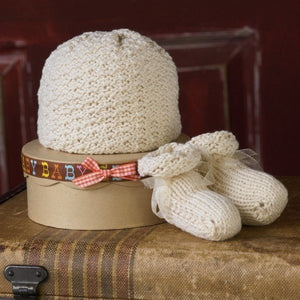 Baby Box w/Hat & Booties