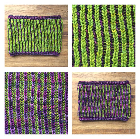 Learn the Brioche Stitch