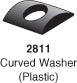 S-3101 - Curved Plastic Washer (sold individually)