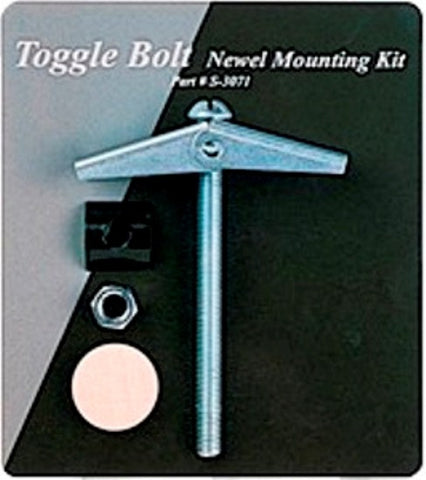 LJ-3071 - Toggle Bolt Newel Mounting Kit