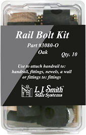 LJ-3080 - Rail Bolt Kit - 10 Pack