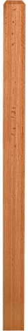 "LJ-4110/4111 - Solid Craftsman Newel Post 3"" Square"