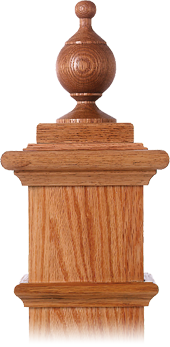LJ-9002 — Chablis Finial for Box Newels