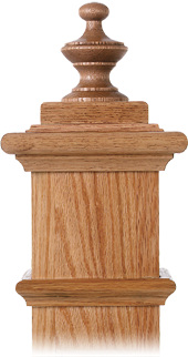 LJ-9006 — Alladin Finial for Box Newels